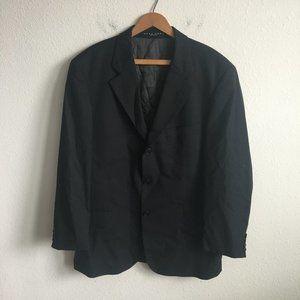 Hugo Boss Einstein Omega Black 3 Button Jacket 40S